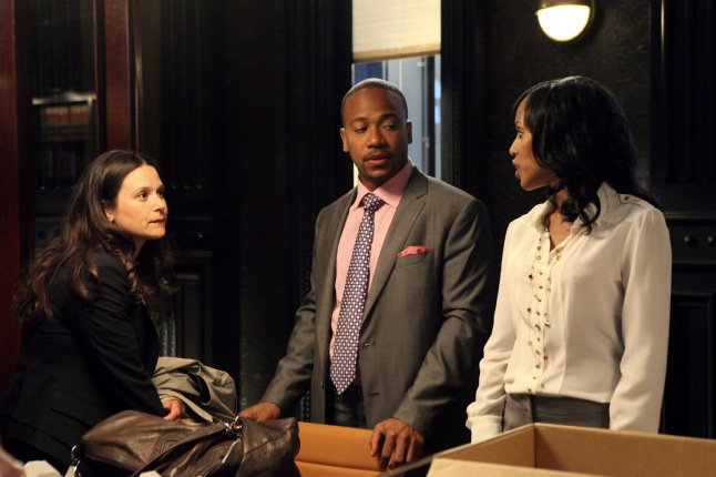 KATIE LOWES, COLUMBUS SHORT, KERRY WASHINGTON