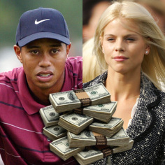 TIGER WOODS AND ELIN NORDEGREN ARCHIVE PHOTOS