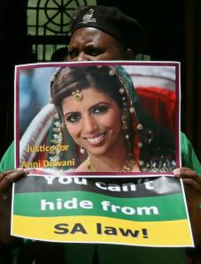 Slain new bride Anni Dewani.