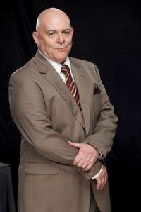 Robert White Head plays Baker Hains, Isidingo's own resident devil.