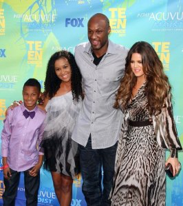 #7703060 2011 Teen Choice Awards - Arrivals held at The Gibson Amphitheatre in Universal City, California on August 7th,  2011. Khloe Kardashian, Lamar Odom   Fame Pictures, Inc - Santa Monica, CA, USA - +1 (310) 395-0500